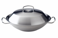 FISSLER - Original-Profi Collection - Wok z metalową pokrywką Ø35 cm