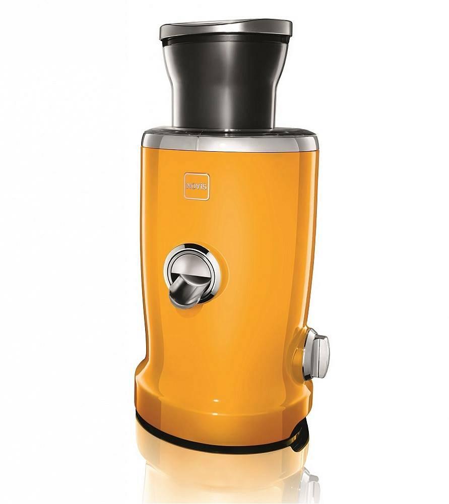 NOVIS - Wyciskarka do soku Vita Juicer - żółty + zestaw szklanek o wartości 569 zł za 1 zł