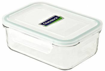 GLASSLOCK - Szklany pojemnik kuchenny 715 ml - zielony