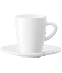 JURA - Zestaw 2 filiżanek + spodki Espresso 60 ml