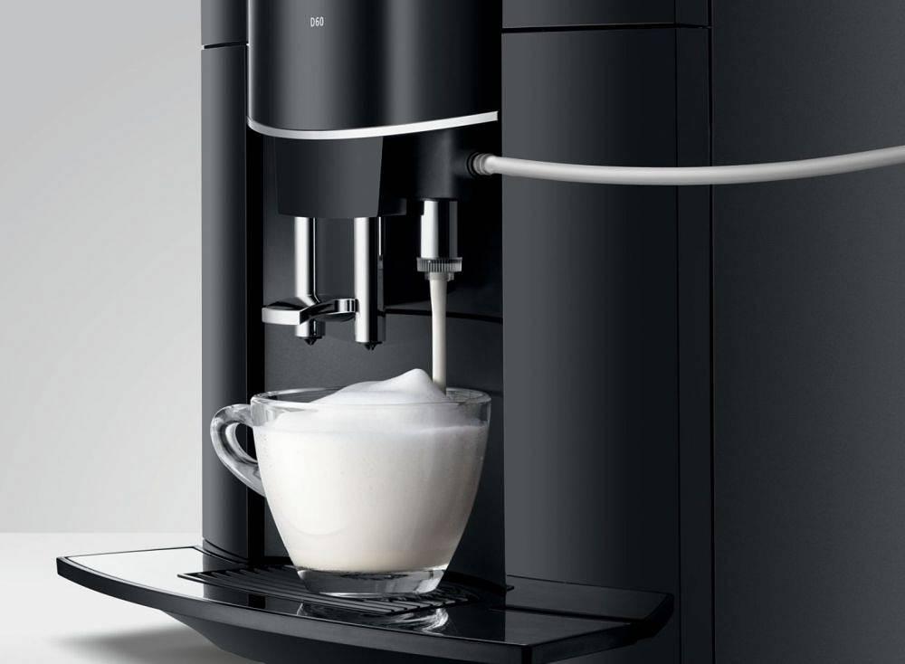 Ekspres do kawy Jura D60 Piano-Black TFT AromaG2