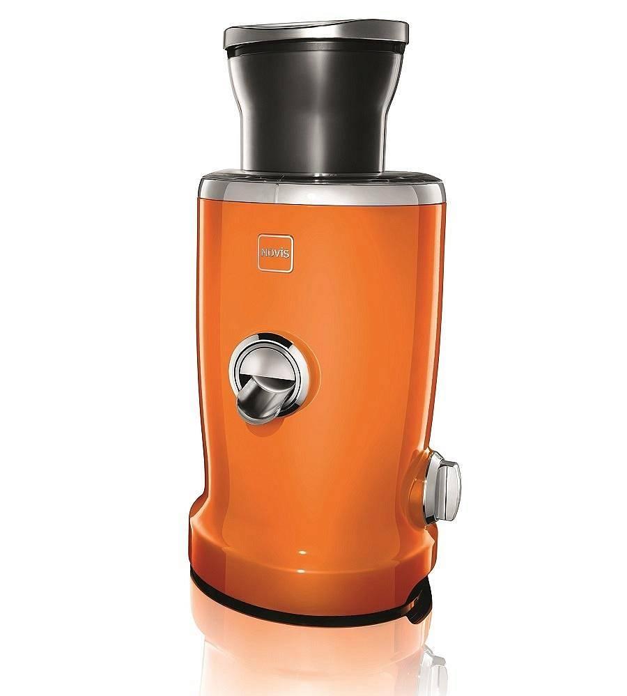 NOVIS - Wyciskarka do soku Vita Juicer - pomarańczowy + zestaw szklanek o wartości 569 zł za 1 zł
