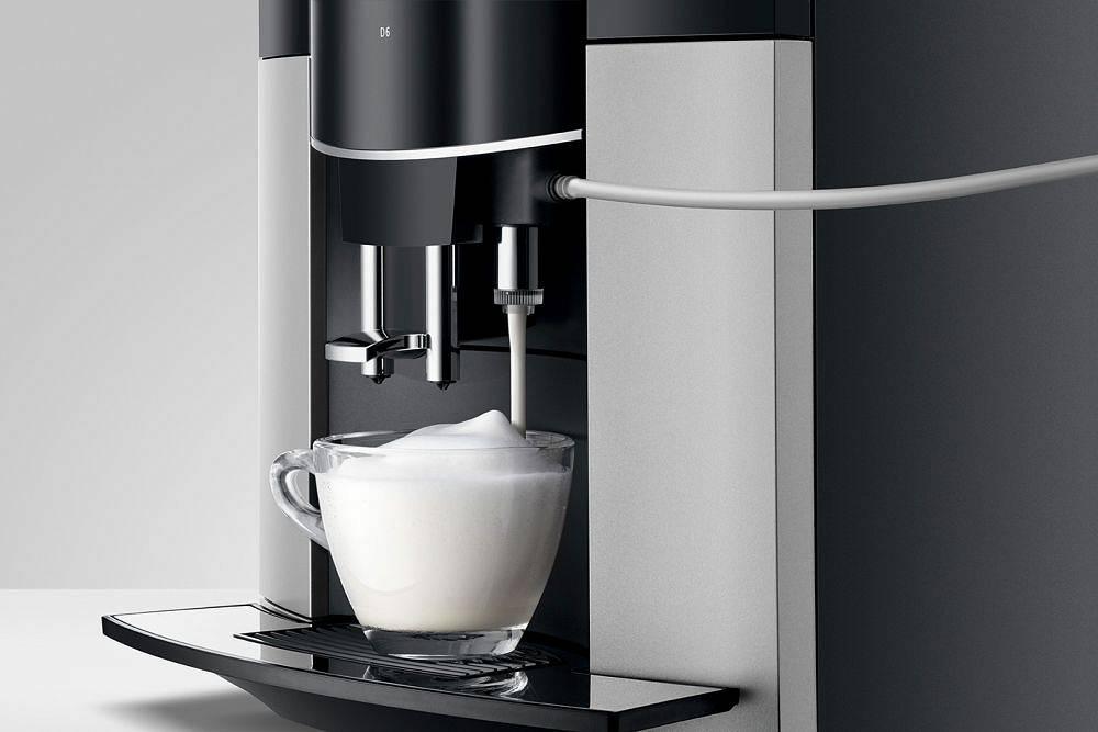 Ekspres do kawy Jura D6 Platin AromaG2