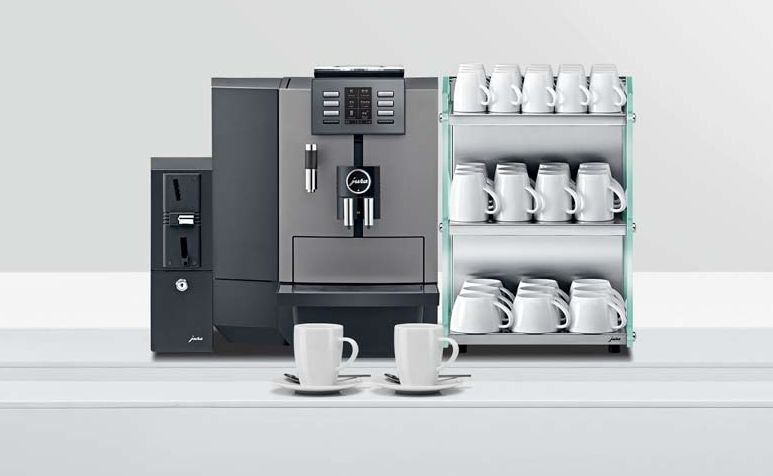 Ekspres do kawy Jura X6 Dark Inox
