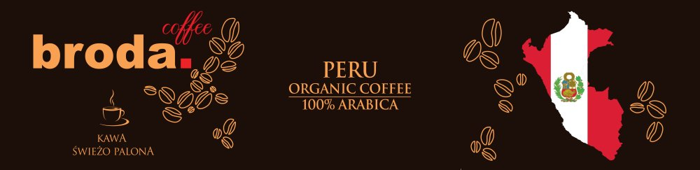 Kawa Świeżo Palona Peru Organic Coffe Arabica