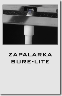 Grille Broil King zapalarka Sure-Lite