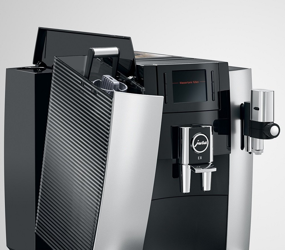 Ekspres do kawy Jura E8 system wody