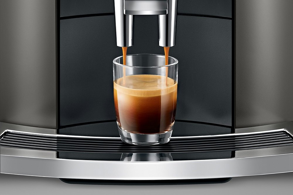 Ekspres do kawy Jura E8 system PEP