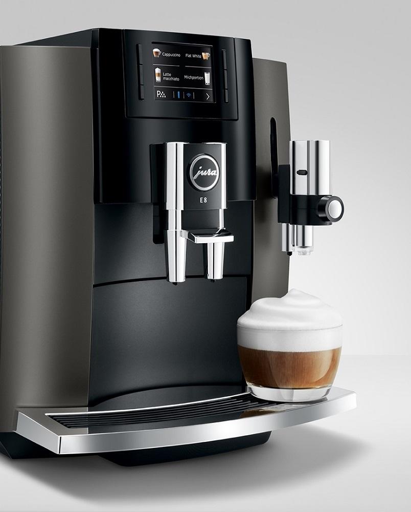 Ekspres do kawy Jura E8 latte macchiato