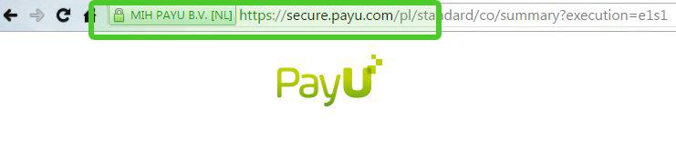 Bezpieczeństwo PayU