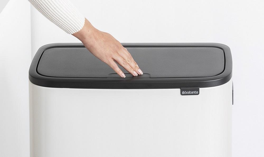 Brabantia kosz Bo Touch bin Hi z płynnie działającą pokrywą Soft Touch