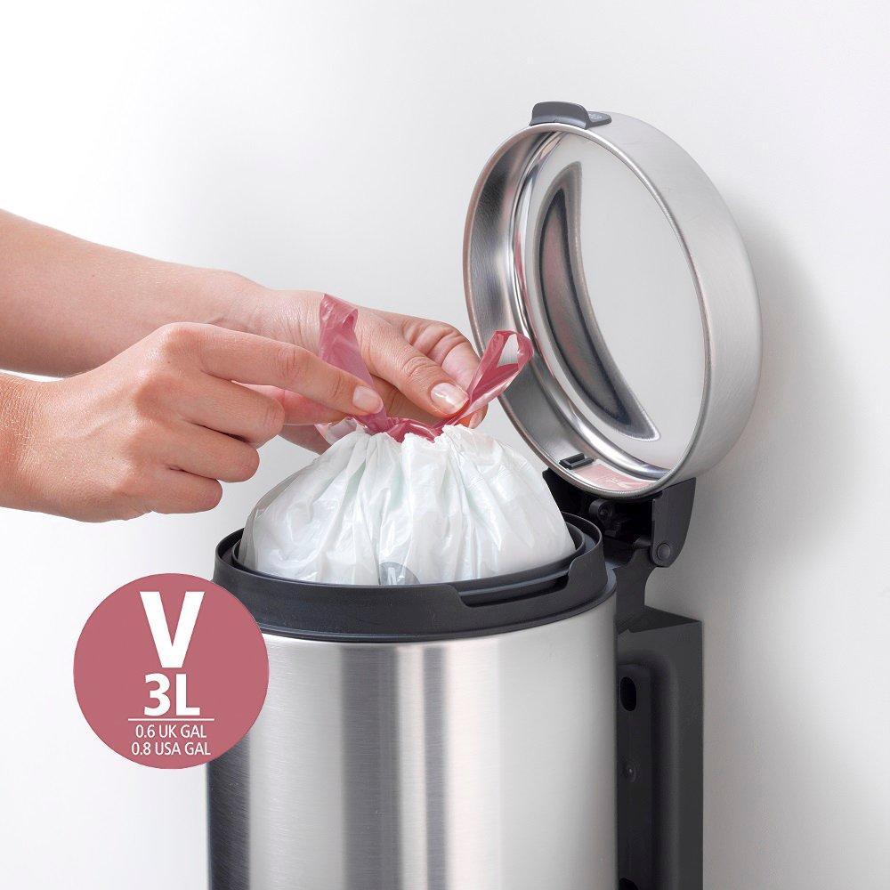 Brabantia worki na śmieci o pojemności 3 l w rozmiarze V