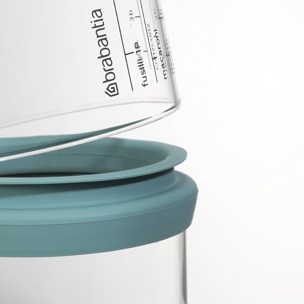 Brabantia Pojemnik kuchenny z miarką 1,0L szczelna silikonowa uszczelka