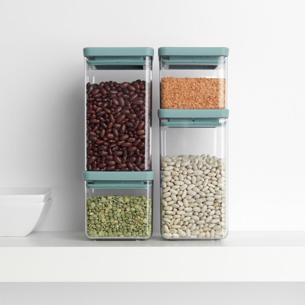 Brabantia zestaw pojemników kuchennych składowanie w stos