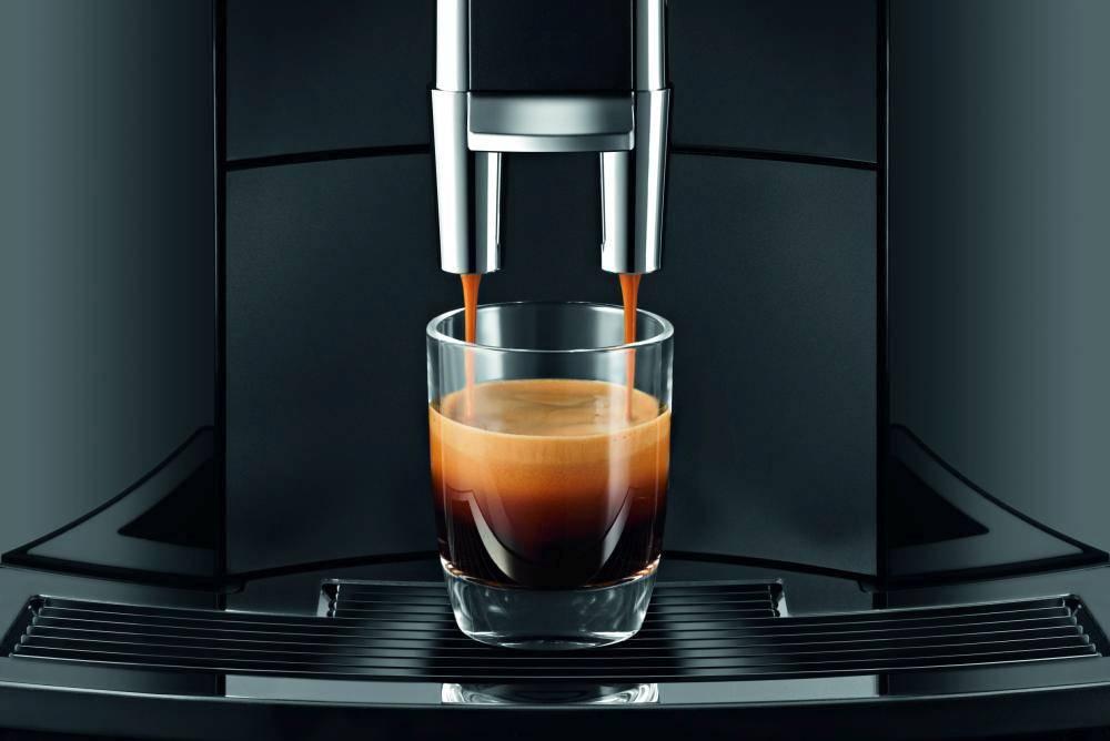 Ekspres do kawy Jura E60 wylewka