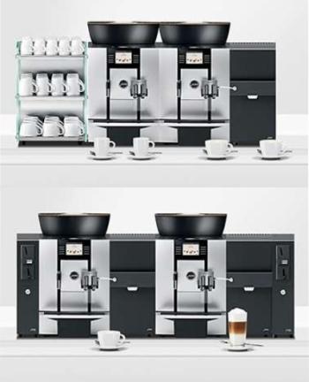 Ekspres do kawy Jura GIGA X3 Aluminium TFT ustawienie