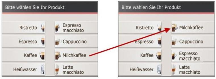 Ekspres do kawy Jura GIGA X3 Aluminium TFT zmiana nazw